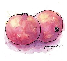 Pomegranates by Carl Conway