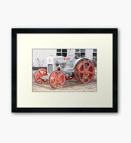 1928 Case Tractor Framed Print
