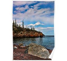 Arch at Tettegouche State Park Poster
