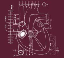 Blueprints to my heart T-Shirt