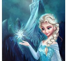Elsa Frozen by AnMNiniel