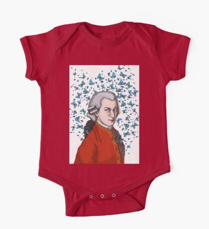Wolfgang Amadeus Mozart One Piece - Short Sleeve