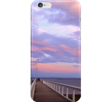 Wellington Point Jetty Sunset - QLD iPhone Case/Skin