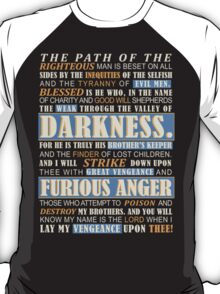 Pulp Fiction: Ezekiel 25:17 T-Shirt
