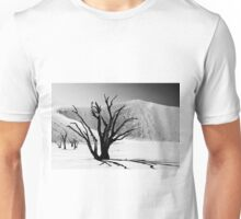 Dead Vlei with dead trees in desert landscape of Namib BW 01 Unisex T-Shirt