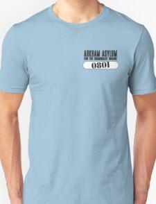 Asylum Inmate #0801 aka Joker's uniform T-Shirt