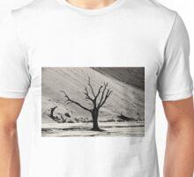 Dead Vlei with dead trees in desert landscape of Namib BW 03 Unisex T-Shirt