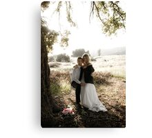 wedding. Canvas Print