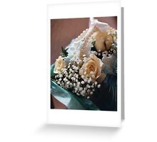 wedding flowers 6 Greeting Card