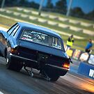 Ford Cortina Drag Car by inmotionphotog