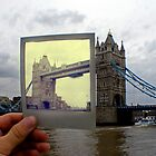 Polaroid London Bridge  by Tom Bosley