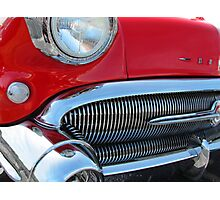 1957 Buick Century in Red Photographic Print
