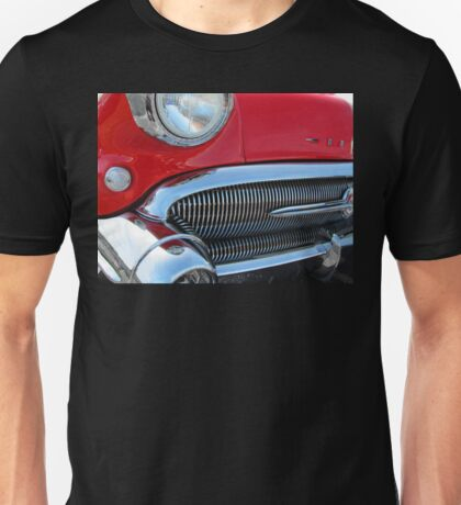 1957 Buick Century in Red Unisex T-Shirt