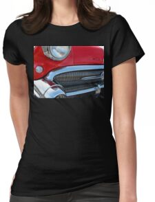 1957 Buick Century in Red Womens Fitted T-Shirt