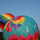 Balloons Rising!   by Linda Jackson