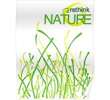 RETHINK nature Poster