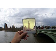 Polaroid Big Ben Photographic Print