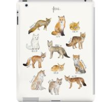Foxes iPad Case/Skin