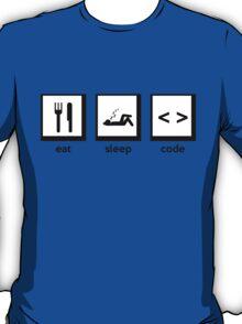 Eat, Sleep, Code T-Shirt