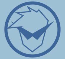 Gurren Lagann - Kamina Symbol (Blue) Kids Clothes