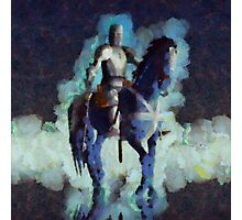 Blue Knight by Sarah Kirk Photographic Print