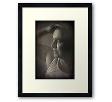 You Put Your Hand In Your Hair Framed Print