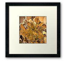 ( BROWN  C )  ERIC WHITEMAN ART  Framed Print