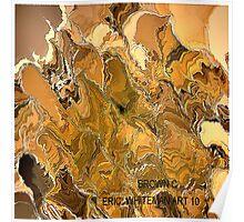 ( BROWN  C )  ERIC WHITEMAN ART  Poster