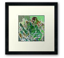( BRAT )  ERIC  WHITEMAN ART  Framed Print