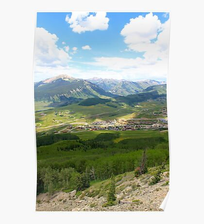 Mt Crested Butte, Colorado Poster