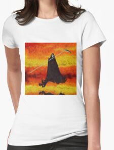 Grim Reaper by Sarah Kirk Womens Fitted T-Shirt