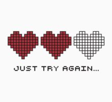 8bit Hearts - Just try again by Rubecula