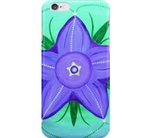 Bluebell Flower Mandala  iPhone Case/Skin