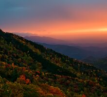 Blue Ridge Sunrise by PaulWilkinson