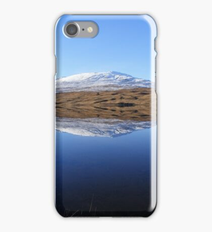 Reflections on Loch Tulla - mountain iPhone Case/Skin