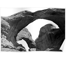 Double Arch - Arches National Park Poster