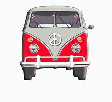 Volkswagen Van, RED, Camper, Split screen, 1966 Volkswagen, Kombi (North America) T-Shirt