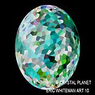 ( CRYSTAL PLANET )   ERIC WHITEMAN ART   by eric  whiteman