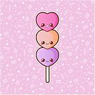 Heart Dango [Pink] by pai-thagoras