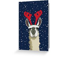 Llet It Snow Greeting Card