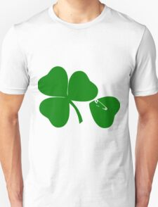3 Leaves + 1 = get Lucky St Patrick's day Unisex T-Shirt