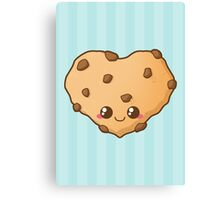 Heart Cookie Canvas Print