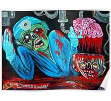 Zombie Brain Surgeon Poster