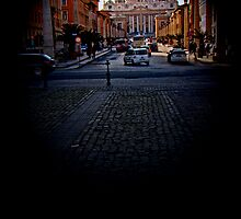 St. Peter's Basilica, The Vatican by Al Bourassa