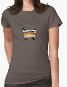 Eat Fast Pie Yum Womens Fitted T-Shirt