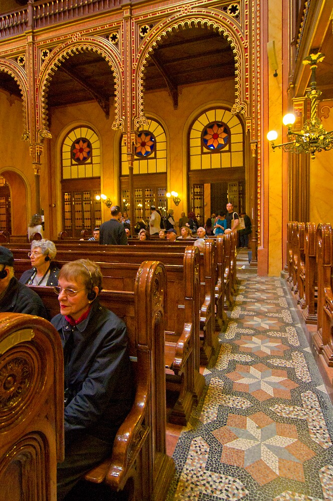 The Great Synagogue, Pest, 41 by Priscilla Turner