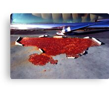 Rusted! Canvas Print