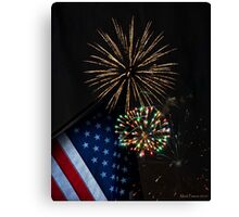Happy Fourth of July Canvas Print