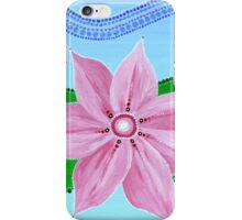 Water Lily Flower Mandala  iPhone Case/Skin