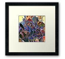 ( WORKS  )  ERIC WHITEMAN  ART   Framed Print